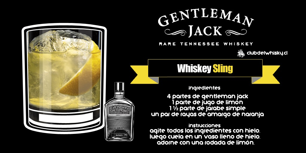 Whiskey Sling - Gentleman Jack