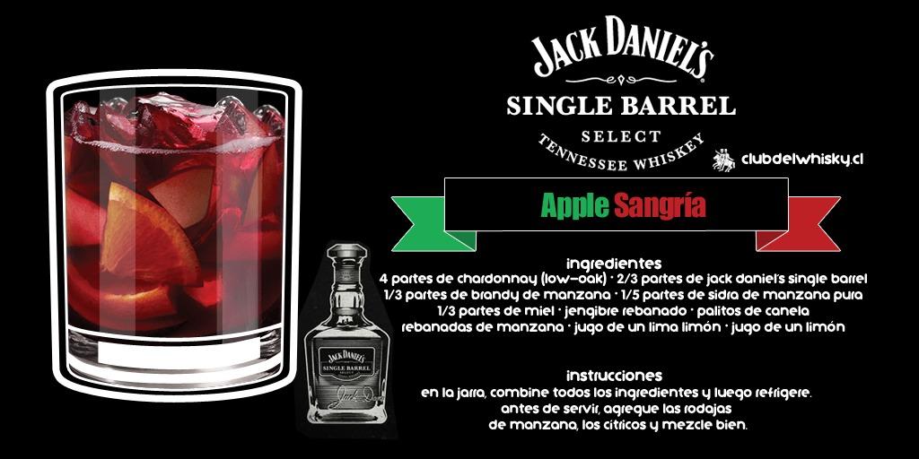Apple Sangría - Jack Daniel's Single Barrel